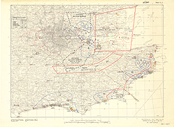 Defence of Britain, defences throughout the south of England and Wales (Sheet E)